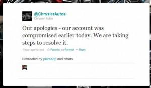 Chrysler Social Media Fail