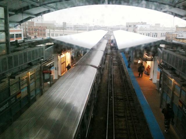 Chicago El Howard Stop