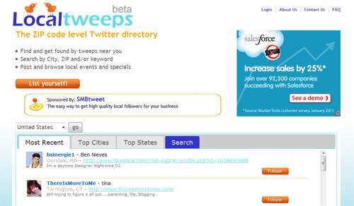 Local Tweeps Directory
