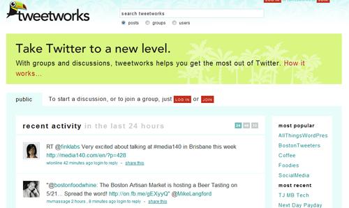 TweetWorks Twitter Directory