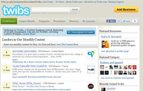 Twibs Twitter Directory