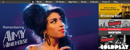 Apple Insensitive Amy Winehouse