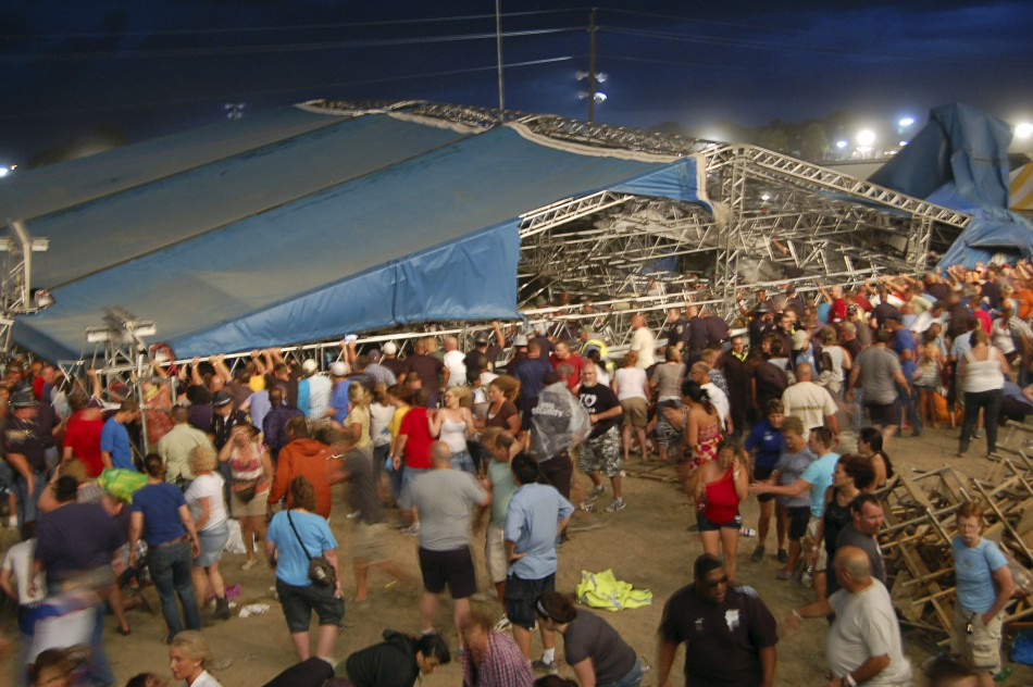 Indiana Stage Collapse