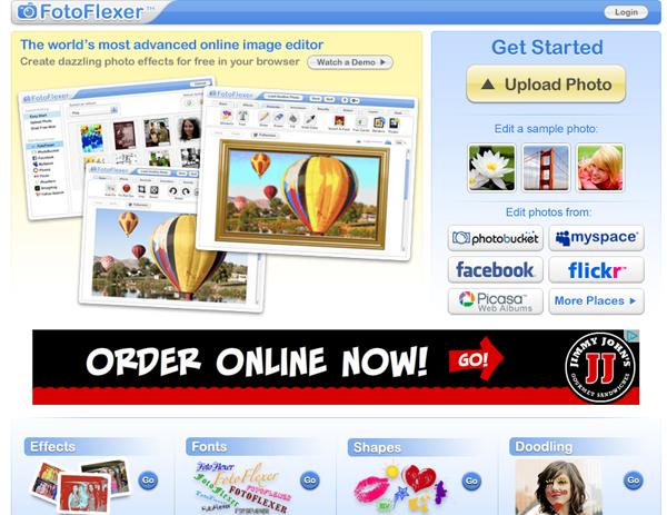 FotoFlexer Image Editing Meeting Planner