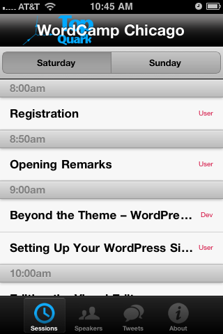The Conference App Helps Planners