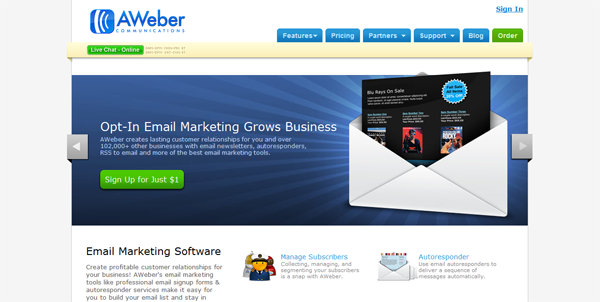AWeber Event and Confernce Marketing