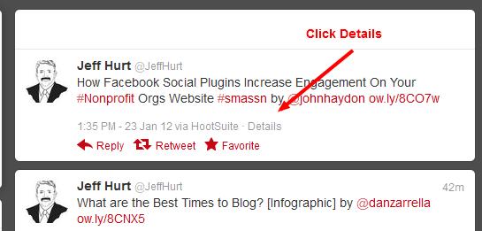 How to Find a Tweet URL