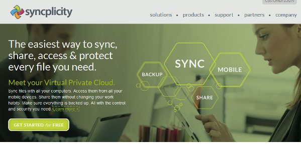 Syncplicity for Meeting and Event Planners Storage