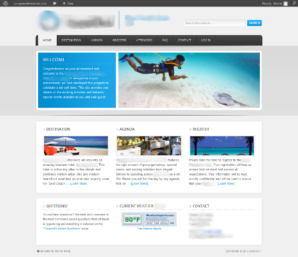 Incentive Travel needs websites