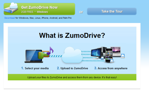 Meeting and Event Planners Online Storage ZumoDrive