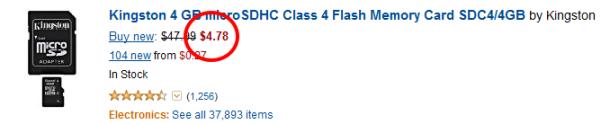 MicroSD Amazon