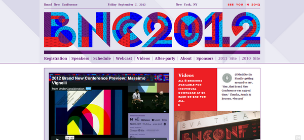 Great Conference Web Design