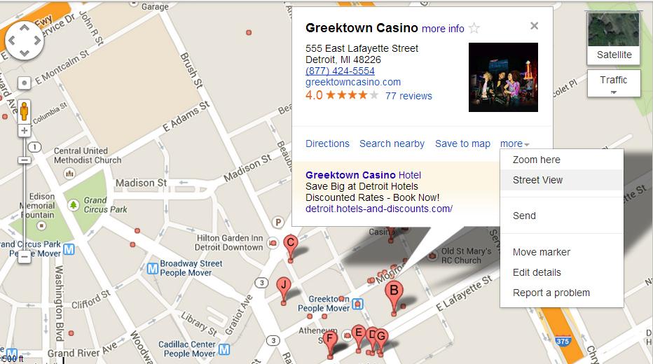 Greek Town Detroit Events