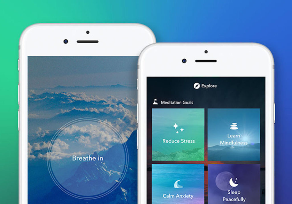 Aura is a mediation app that can be used by event planners.