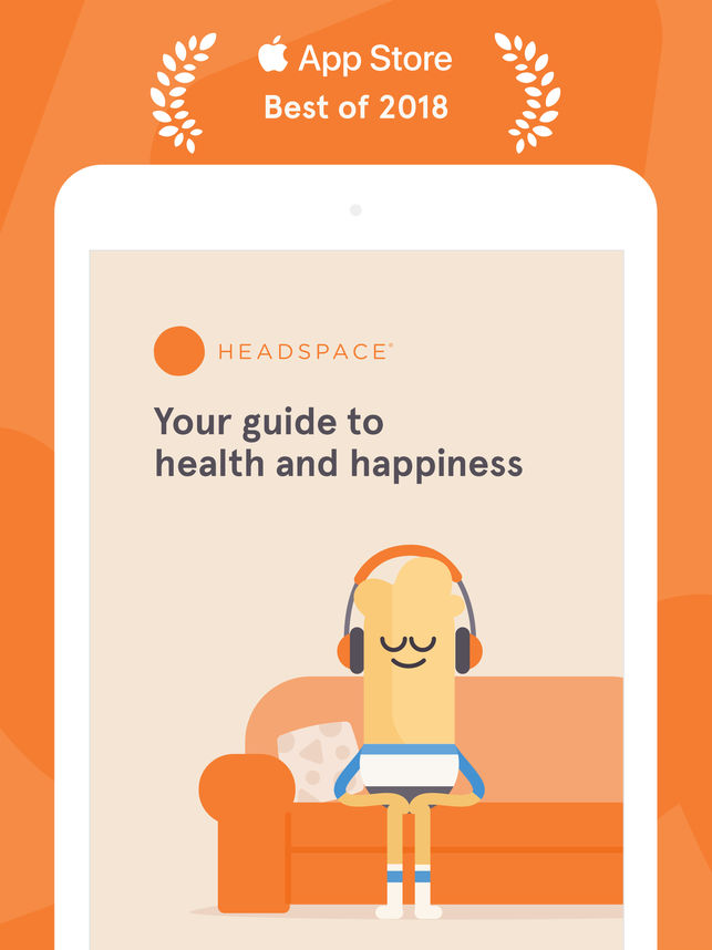 Headspace is an app that meeting and event professionals can use to relax and be healthier